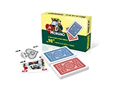 Idea Regalo - MODIANO Poker 98 - Carte da poker italiane