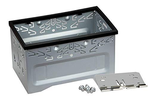Rydohi Kit de instalación de Audio estéreo para Coche, Universal, de Hierro, Jaula de Seguridad con Marco para Reproductor de DVD de Coche de Doble DIN 2 DIN.