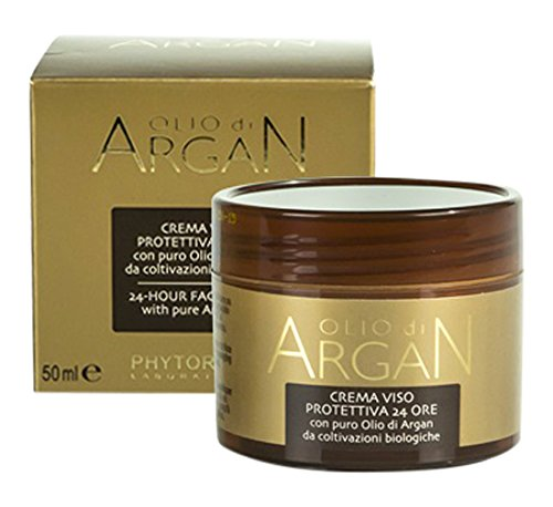 Olio di Argan 24-hour Face Protection Cream with pure Argan Oil by Olio di Argan (English Manual)