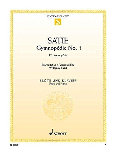Gymnopédie No1 (Révision Wolfgang Birtel) - Flûte/Piano