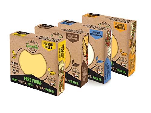 ENVÍO GRATIS* PROMO PACK DE 4: GreenVie Queso Bloque vegano