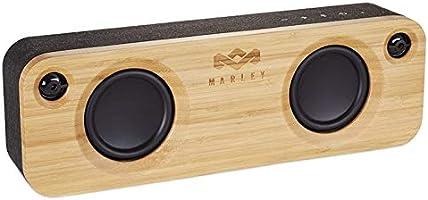 Marley Get Together draagbare Bluetooth-luidspreker, duurzame draagbare bamboe-luidspreker, draadloos draadloos,...