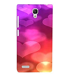 Heart, Pink, Baloon, Beautiful Pattern, Printed Designer Back Case Cover for Xiaomi Redmi Note :: Xiaomi Redmi Note 4G :: Xiaomi Redmi Note Prime
