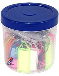 SNDIA Multicolor Keyring & Keychain