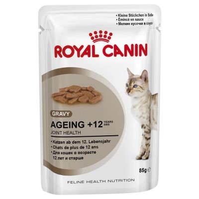 Royal Canin Frischebeutel Multipack Health Nutrition Ageing +12, 4er Pack (48 x - 12 Royal Ageing Canin