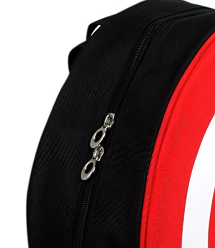 Best boys backpack in India 2020 Auxter Red Polyester 20L Avengers Captain America Shield School Backpack Image 6