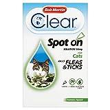 Bob Martin Clear Flea & Tick  Clear Fipronil Cat Spot-on Solution, 1 Tube