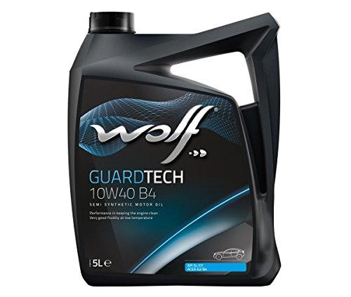 Bidon 5 litres d'huile moteur 10W40 Wolf 8304019 pas cher