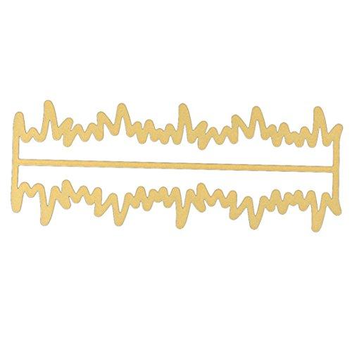 EARS - Metall stirbt Schablone für DIY Scrapbooking Album Papierkarte (A)