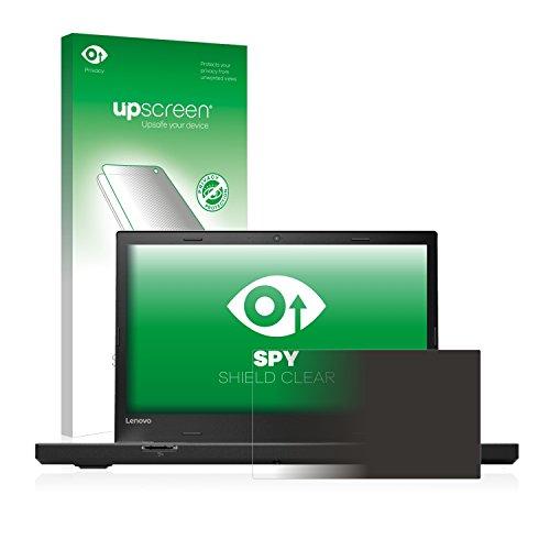 upscreen Anti-Spy Blickschutzfolie kompatibel mit Lenovo ThinkPad T470p Privacy Screen Bildschirmschutzfolie - Sichtschutz, Kratzfest