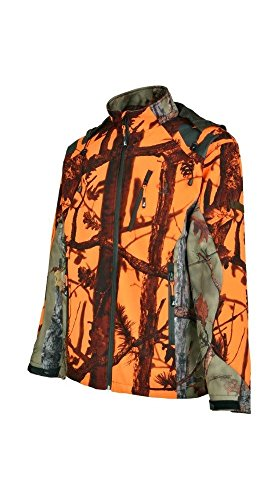 Percussion - Blouson de chasse Softshell Ghostcamo Percussion-M