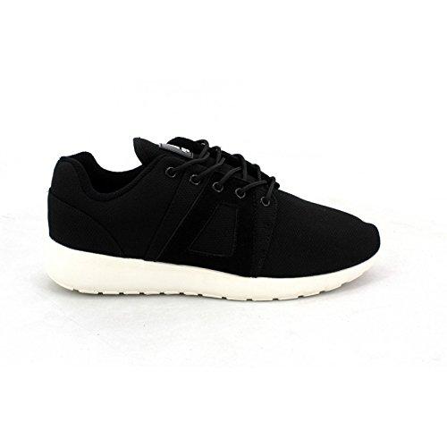 Asfvlt - Sneaker Uomo , Nero (Blk White), 44