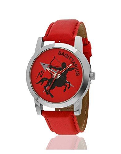 Yepme Analog Red Dial Men's Watch - YPMWATCH1689 image