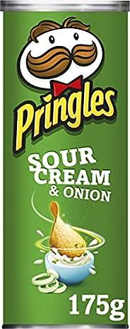 Pringles Chips di Patate Sour Cream e Onion, 175g