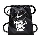 Nike Unisex-Erwachsene NK Heritage GMSK Turnbeutel, schwarz (Black/White)