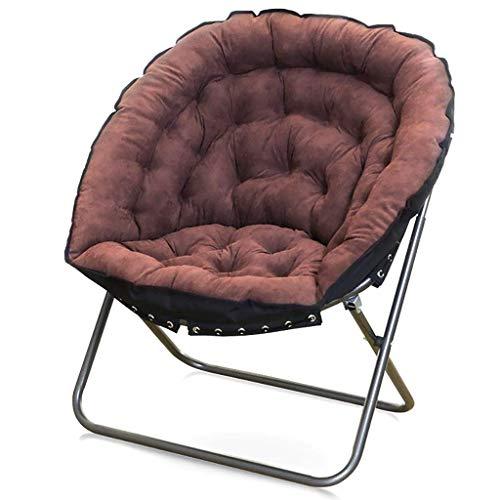 Zimmer Stuhl (WMM-folding chair Kreative Mode Bequeme faul einzigen Falten Schlafzimmer Wohnzimmer Zimmer einfache TV Stuhl Balkon kleines Sofa (Farbe : A7))