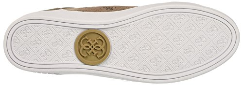 Guess Gloria, Baskets Hautes Femme Beige (Tan)