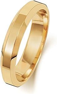 Anello Fede Nuziale Uomo/Donna 4mm in Oro giallo 18k (750) WJS1892418KY