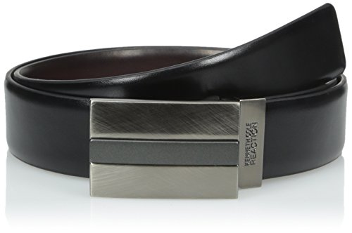 Kenneth Cole REACTION Men's 1 3/8 in. Reversible Belt With Plaque Matte Finish
