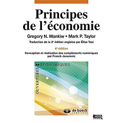 Principes de l'économie
