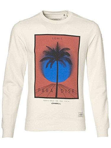 O'Neill Herren Sonic Streetwear Sweatshirt powder white