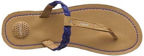 O'NeillVenice crust leather - Infradito donna Blu (Surf The Web)