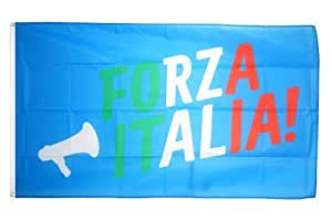 Digni® Drapeau supporteur Italie Forza Italia - 90 x 150 cm
