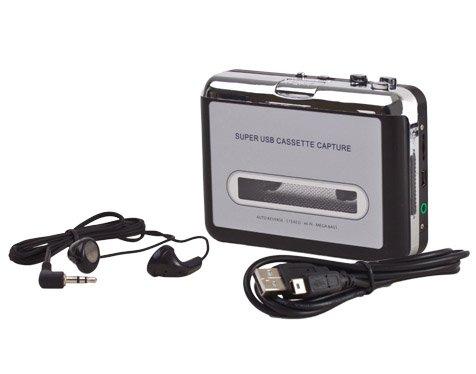 Portable cassette vers MP3 Convertisseur capturer l'audio USB à un PC