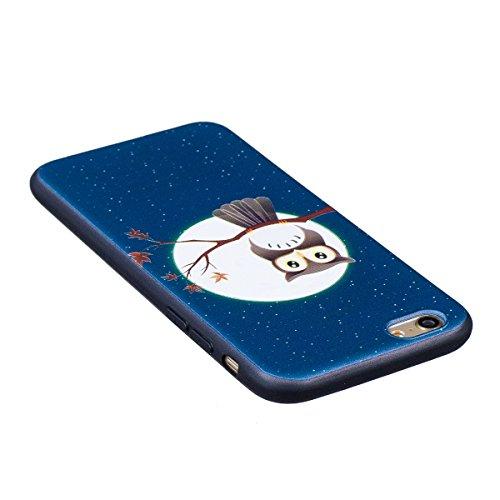 Custodia iPhone 6, iPhone 6S Cover Silicone, SainCat Custodia in Morbida TPU Protettiva Cover per iPhone 6/6S, Bling Glitter Strass Diamante 3D Silicone Case Ultra Slim Sottile Morbida Transparent TPU Eagle Tree