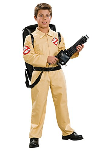 Ghostbusters Boiler Suit Child Boys Medium Kids Fancy Dress Costume (Kinder Kostüm Ghostbuster)