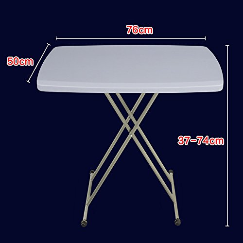 LVZAIXI Table Pliante Ronde de Table de Bistro (Couleur : Gris)