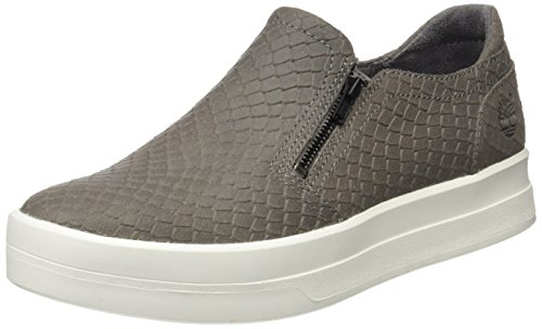 Timberland Damen Mayliss Slip Onsteeple Slipper, Grau (Steeple Grey Snake Suede), 42 EU