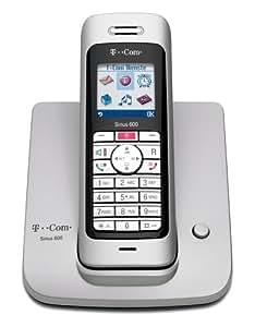 T-Com Sinus 600 Schnurloses Dect-Telefon mit Farbdisplay, bleuchteter Tastatur und SIM-Karten-Leser