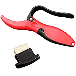 Yardwe Afilador de herramientas de jardinería profesional Herramienta de afilado de cuchillas de tijera