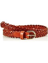 PIECES Damen Gürtel Pcavery Leather Braided Slim Belt Noos
