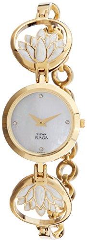 Titan Raga Analog Mother of Pearl Dial Women's Watch- 2540YM01 image