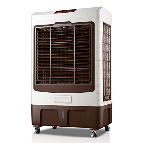 ZHANWEI Luftkühler Mobile Tragbare Klimaanlage Klimagerät Wasserkühlen Luftbefeuchter Zeitliche Koordinierung Fernbedienung 3 Gangpositionen Industrie Energie Sparen Handy, Mobiltelefon Ruhig, 200W