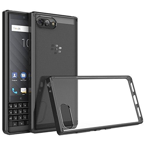 CiCiCat BlackBerry Key2 Hülle Handyhüllen, Hard PC Back Cover Case Schutz Hülle Tasche Schutzhülle Für BlackBerry Key2. (BlackBerry Key2 4.5'', Schwarz) -