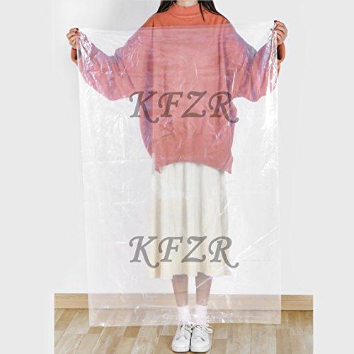 XYBH Set von 6 Aufbewahrungsbeutel für Tröster Decke Kleidung Plüschtiere Staubdicht Feuchtigkeit Jumbo Kunststoff