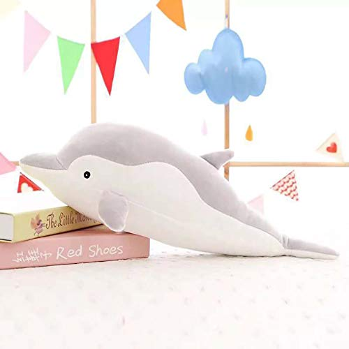 TianranRT★ Plüsch Babys/Dolphin Cute Plüschpuppe Für Freundin Valentinstag Geschenk Delphin Kissen, Neue Süße Und Weiche Puppe, Grau