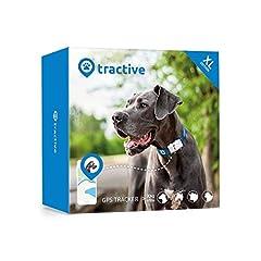 Idea Regalo - Tractive Localizzatore GPS per cani. Il dispositivo leggero e impermeabile per ogni collare - Edizione XL