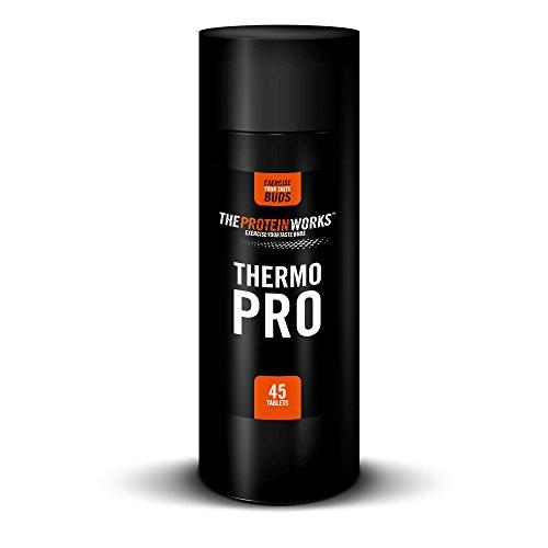 THE PROTEIN WORKS Thermopro Brûleur de Graisse, 45 Comprimés