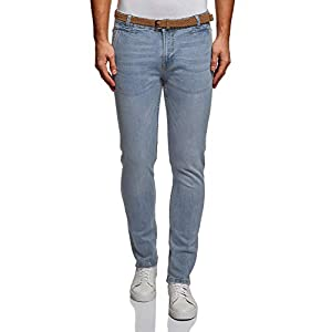 oodji Ultra Uomo Jeans Basic Slim Fit