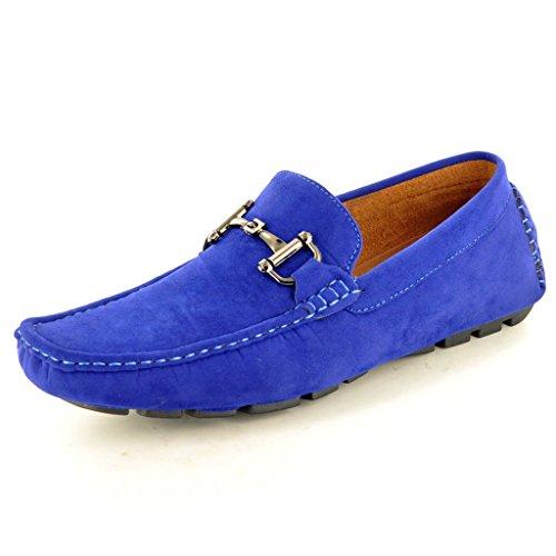 Scarpe mocassini da uomo, da infilare Blue