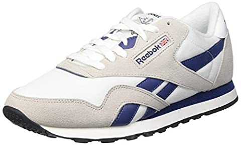 Reebok Classic Nylon Sneakers Low Man blanco white - 9