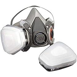 Demi-masque classique réutilisable 3MTM 6200, Certifié EN sécurité