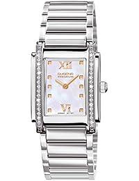Dugena Damen-Armbanduhr Tenero Stone - Traditional Classic Analog Quarz Edelstahl 7590259