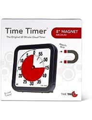 Time Timer magnetischer 60 Minuten Timer mit optischem Signal, Countdown-Uhr für Kinder und Erwachsene, für das Klassenzimmer oder Besprechungsräume