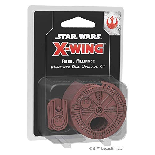 Fantasy Flight Games FFG X-Wing Game Rebel Alliance Maneuver Dial Upgrade Kit - Star Wars X-Wing Miniatures Game 2nd Edition
