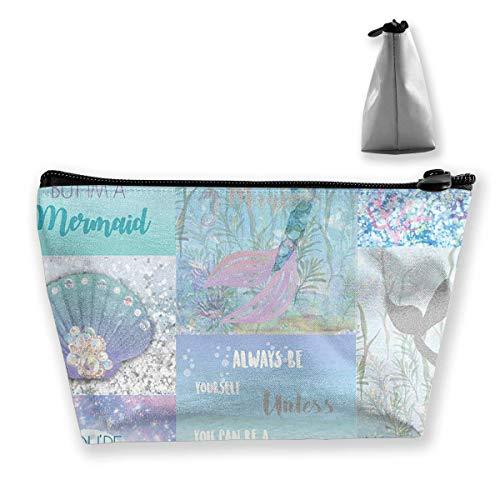 Meerjungfrau Perle Wasser Wasserpflanzen Reise Make-up Tasche Travel Wash Taschen Junge Federmäppchen -